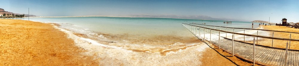 The Dead Sea, Israel in June