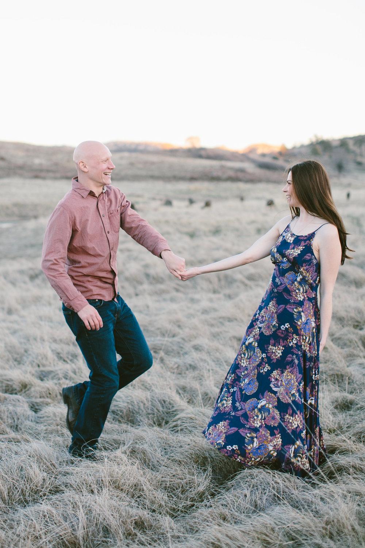 JUSTIN + JESSICA |JULIAN ENGAGEMENT