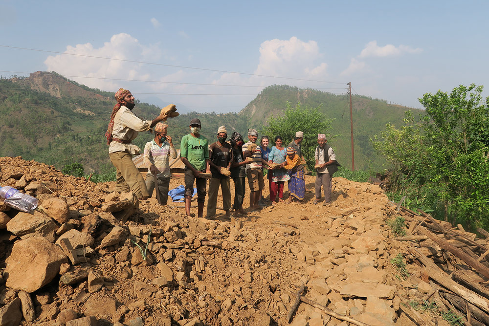NEPAL EARTHQUAKE RELIEF -