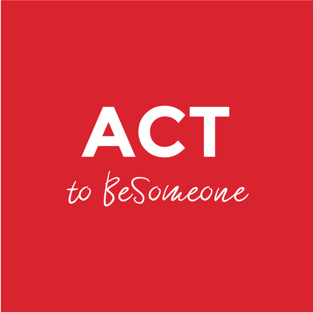 The smallest actions can ignite the spark and contribute making this world a better place. Open up to new and creative ideas of how our actions can have a positive impact! Pick one you like or submit your own and ACT to BeSomeOne!