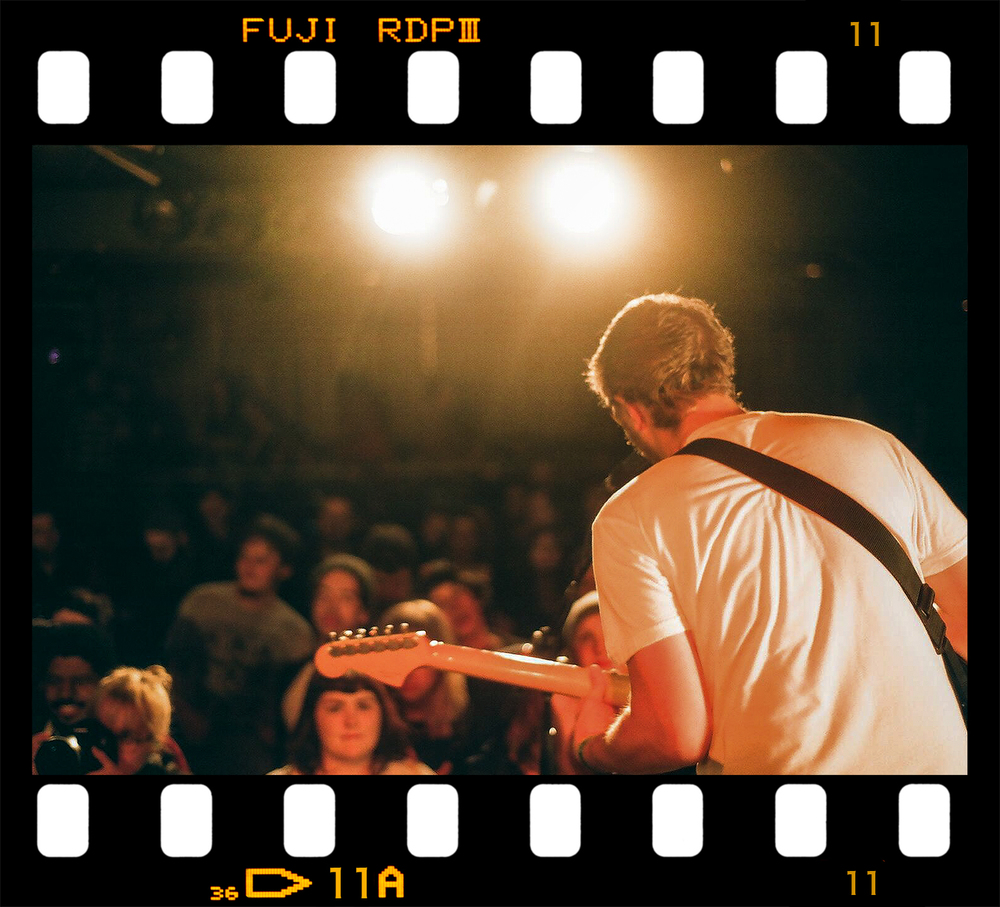 3B Photo Solids Indie Music Concert Photography Toronto Fuji Superia 400 Solids Tattoo