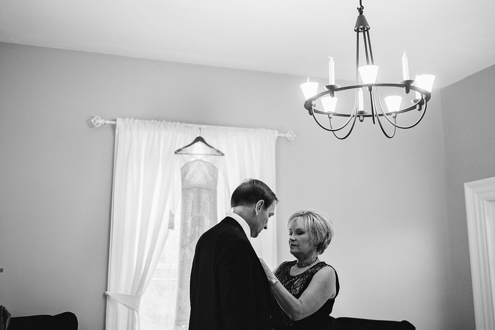 snapshot from documentary style wedding photography by 3b photo bride's parents candid moment