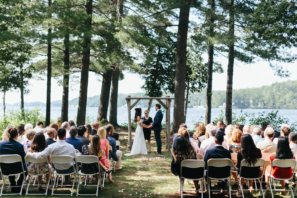 Toronto-Wedding-Photographer-Muskoka-Wedding-Lakeside-Forest-Theme-Boho-Bride-JuneBug-Weddings-Vows-Ceremony-On-The-Lake.jpg