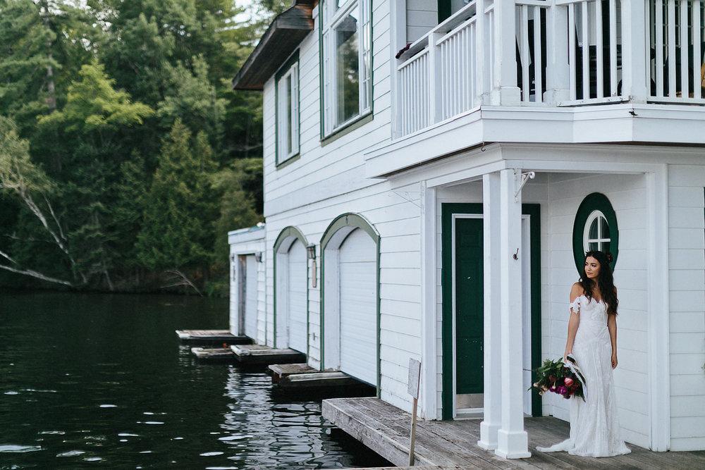 Toronto-Wedding-Photographer-Muskoka-Wedding-Lakeside-Forest-Theme-Boho-Bride-Wedding-Dress-Detail-Bridal-Portrait.jpg
