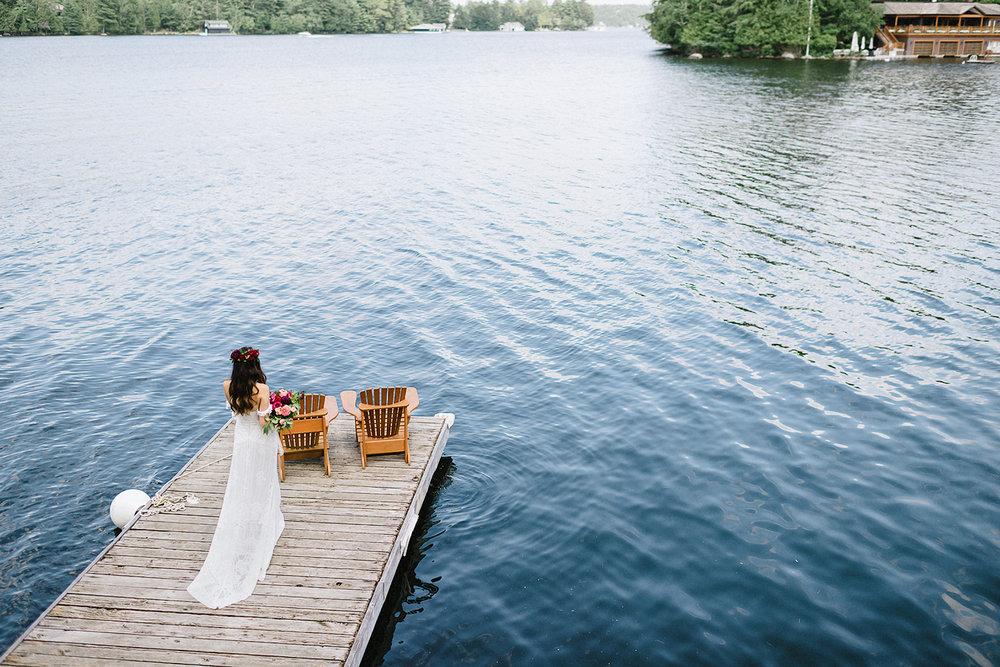 Muskoka-Cottage-Wedding-Photography-Photographer_Photojournalistic-Documentary-Wedding-Photography_Vintage-Bride-Lovers-Land-Dress_Rue-Des-Seins_Bridal-Portrait-POV.jpg