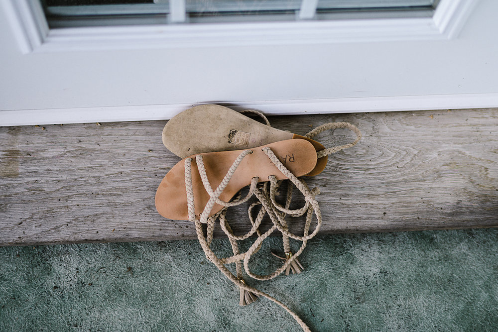Muskoka-Cottage-Wedding-Photography-Photographer_Photojournalistic-Documentary-Wedding-Photography_Lakeside-Ceremony-Sunset-Bride-Wood-Shoes.jpg