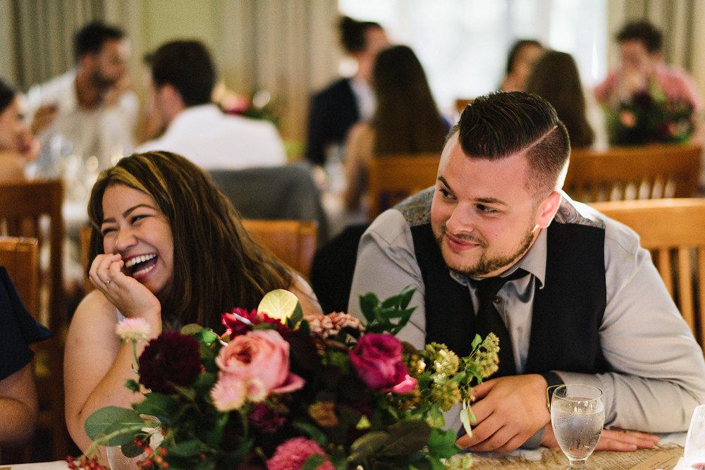 Muskoka-Cottage-Wedding-Photography-Photographer_Photojournalistic-Documentary-Wedding-Photography_Vintage-Bride-Sherwood-Inn-Lake-Wedding-Venue_Reception-Sunset-Guests-Candid.jpg