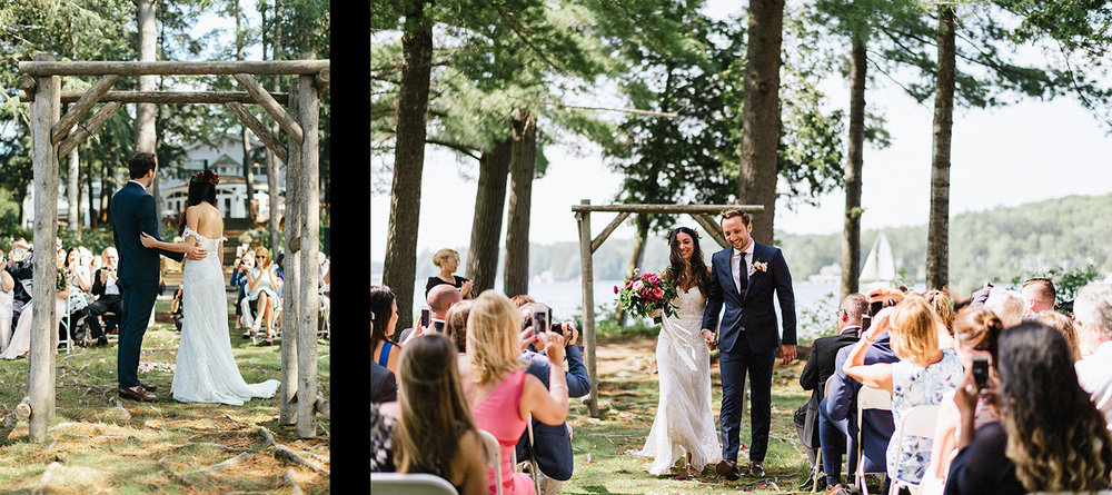 spread-5-muskoka-cottage-wedding-dress-rue-de-seine-weding-vows-between-bride-and-groom-3b-photography-just-married-best-candid-documentary-wedding-photography.jpg