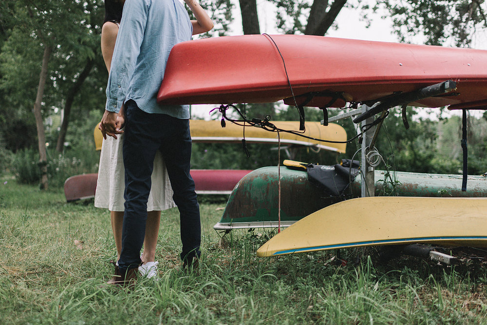 Best-Wedding-Photographers-Toronto-Island-Engagement-Photography-Lifestyle-Adventure-Session-Summer-Picnic-Fine-Art-Documentary-Photojournalistic-Authentic-Blundstones-Romantic-Intimate-Candid-Portraits-Bride-and-Groom-Canoes-on-the-Lake.jpg