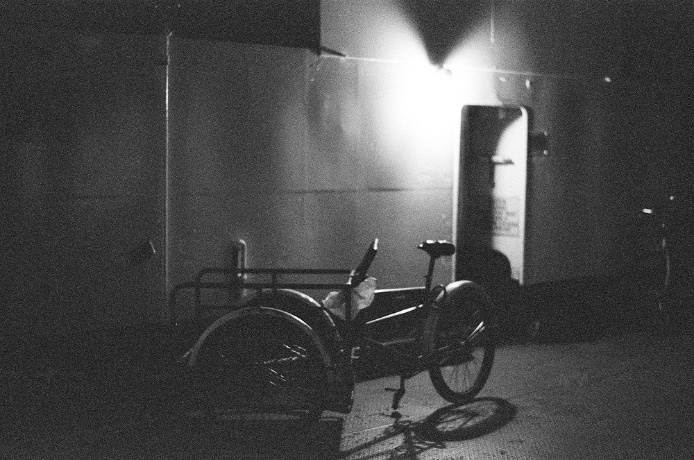 Best-Analog-Film-Wedding-Photographers-Toronto-Top-10-Wedding-Photography-GTA--Toronto-Island-Wedding--Bride-Analog-Film-Portrait-Ilford-Delta-3200-Cinematic-moody-bike-details.jpg