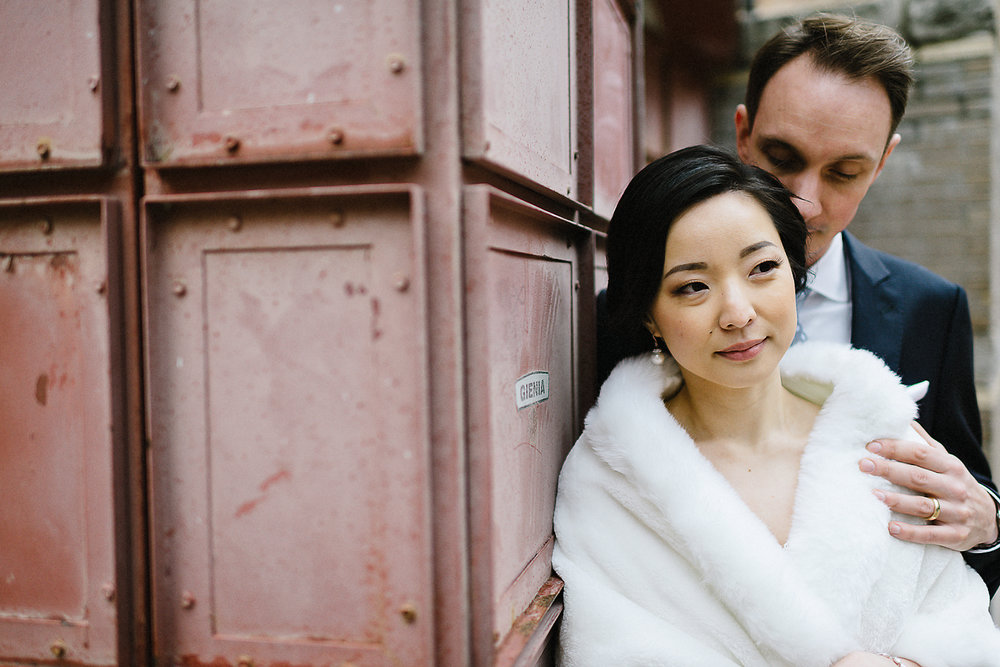 Toronto-Cloud-Gardens-Wedding-Best-Wedding-Photography-Toronto-Financial-District-Chse-Restaurent-Small-Intimate-Vintage-Wedding-Photography-Portrait-Bride-and-Groom-Windy.jpg