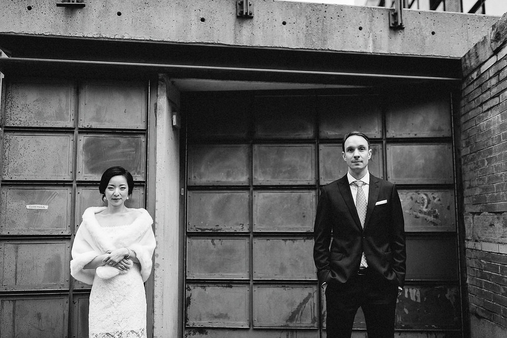 Toronto-Cloud-Gardens-Wedding-Best-Wedding-Photography-Toronto-Financial-District-Chse-Restaurent-Small-Intimate-Vintage-Wedding-Photography-Portrait-Bride-Groom-Black-and-White-Candid.jpg