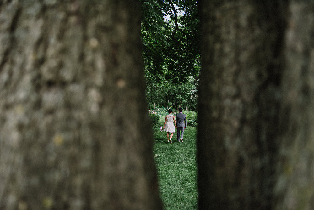 Outdoor-Wedding-Venues-Toronto-Colbourne-Lodge-High-Park_-City-Bride-and-Groom-Forest-Vintage-Wedding-Dress-for-Summer.jpg