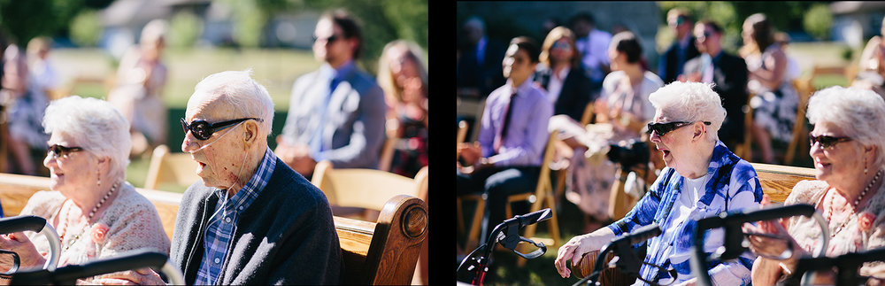 spread7-Best-Documentary-photojournalistic-wedding-photographers-Toronto-Ontario-Canada-Rural-Country-House-Backyard-Wedding-Ceremony-Vintage-aesthetic-bride-and-groom-just-married-baby-surprise-news-grandma-reaction-shocked.jpg