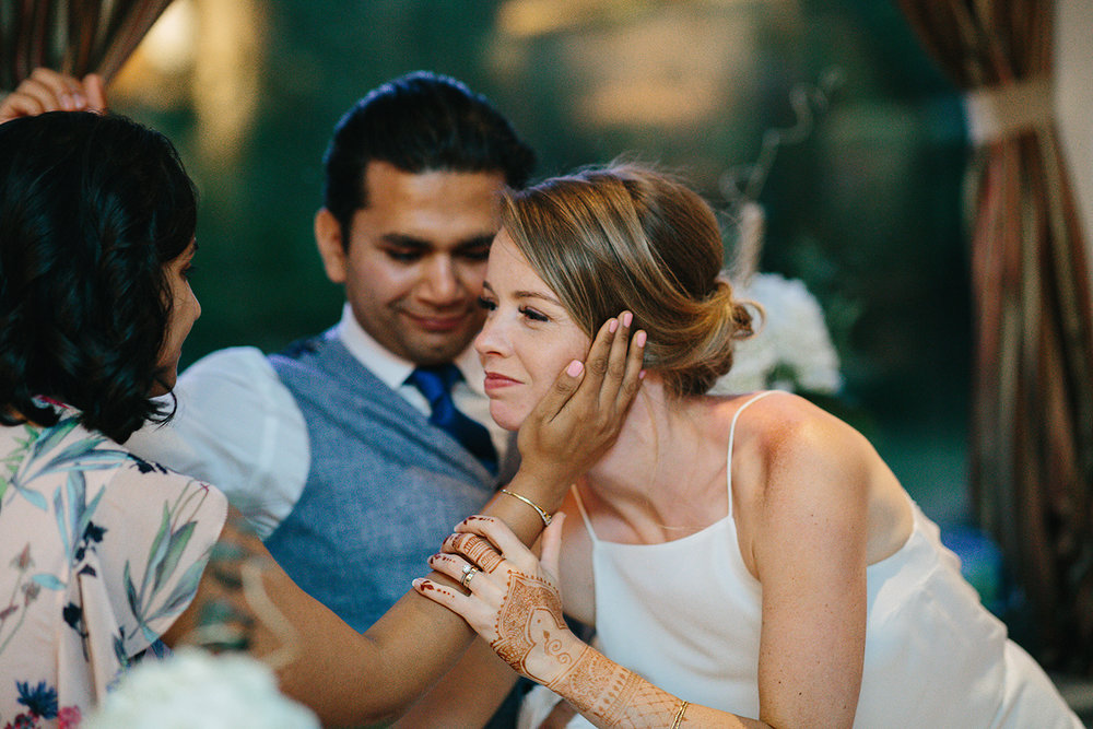 Country-Side-Wedding-Reception-at-private-Inn-restaurant-Vintage-speeches-sister-hugging-bride-special-moment.jpg