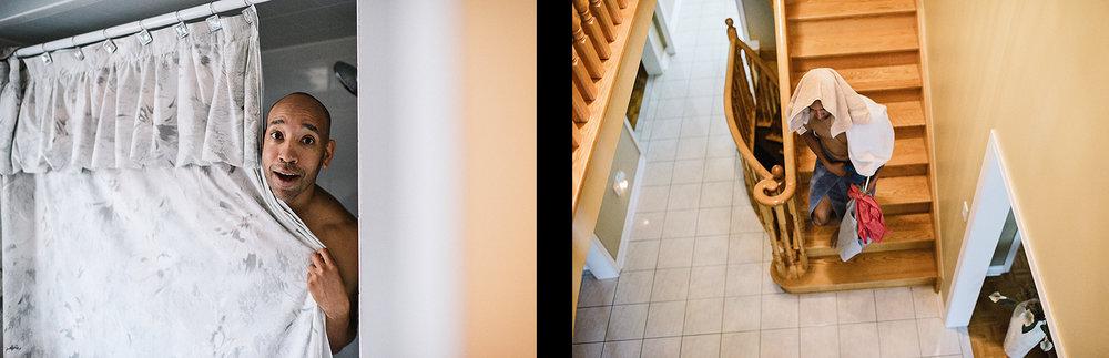 spread-4-Liberty-Grand-Wedding-Best-Toronto-Wedding-Photographers-Aanalog-Film-Vintage-Bride-and-Groom-Getting-Ready-Groom-in-Shower.jpg