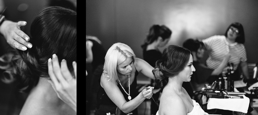 spread-8-Liberty-Grand-Wedding-Best-Toronto-Wedding-Photographers-Analog-Film-Vintage-Bride-getting-ready-at-her-salon-hairstylist-updo-bw.jpg
