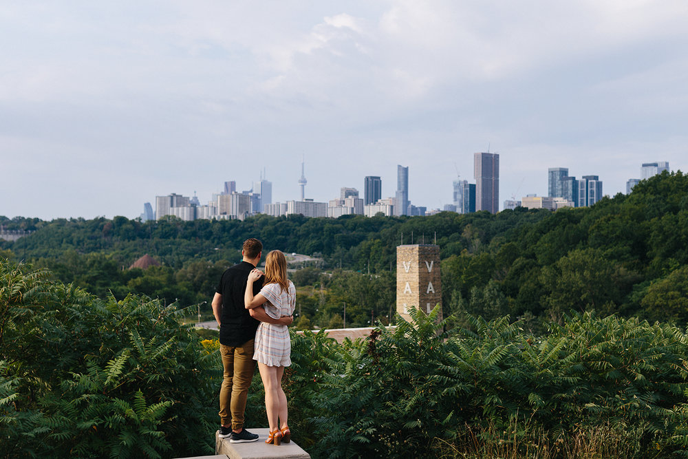 Toronto-Evergreen-Brickworks-Engagement-Photography-best-toronto-wedding-photographers-3b-photography-documentary-photojournalistic-film-analog-photography-couples-portraits-engaged-candid-romantic-artistic-creative-skyline.jpg