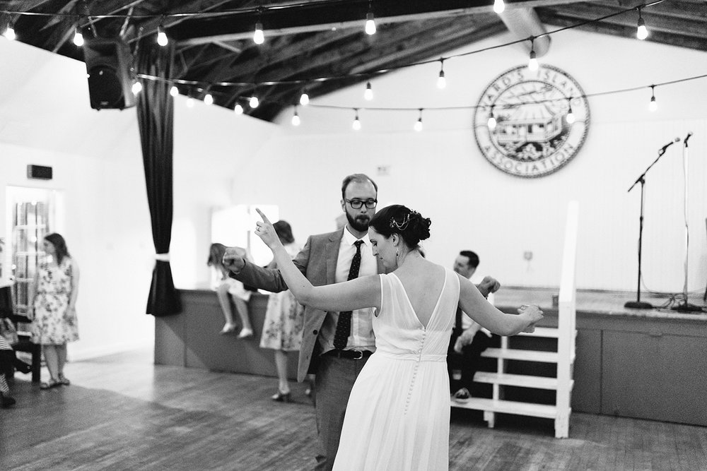 Best-Film-Wedding-Photographers-3b-photography-analog-photography-wards-island-clubhouse-junebug-weddings-vintage-venue-reception-guests-dancing-candid-moments-memories-fun-party-bride-and-groom-fun-hard-partier-bw.jpg