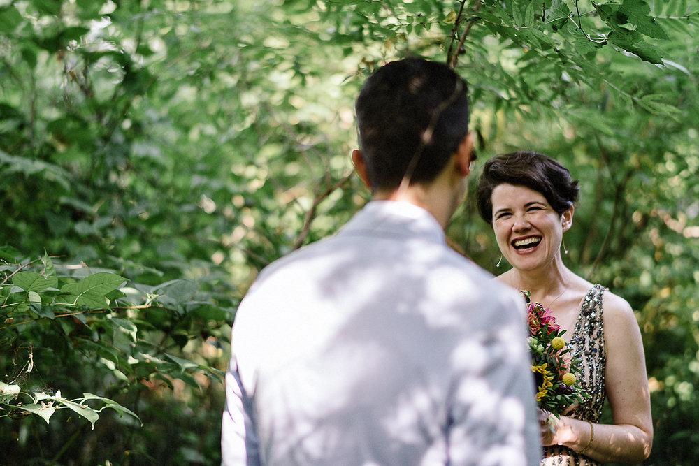 Best-Photojournalistic-Wedding-Photographer-Toronto-Documentary-Style-Wedding-Photography-Boho-Bride-and-Groom-Hipster-Wedding-Toronto-Island-Cafe-Clubhouse-Candid-emotion-from-bride-smile.jpg