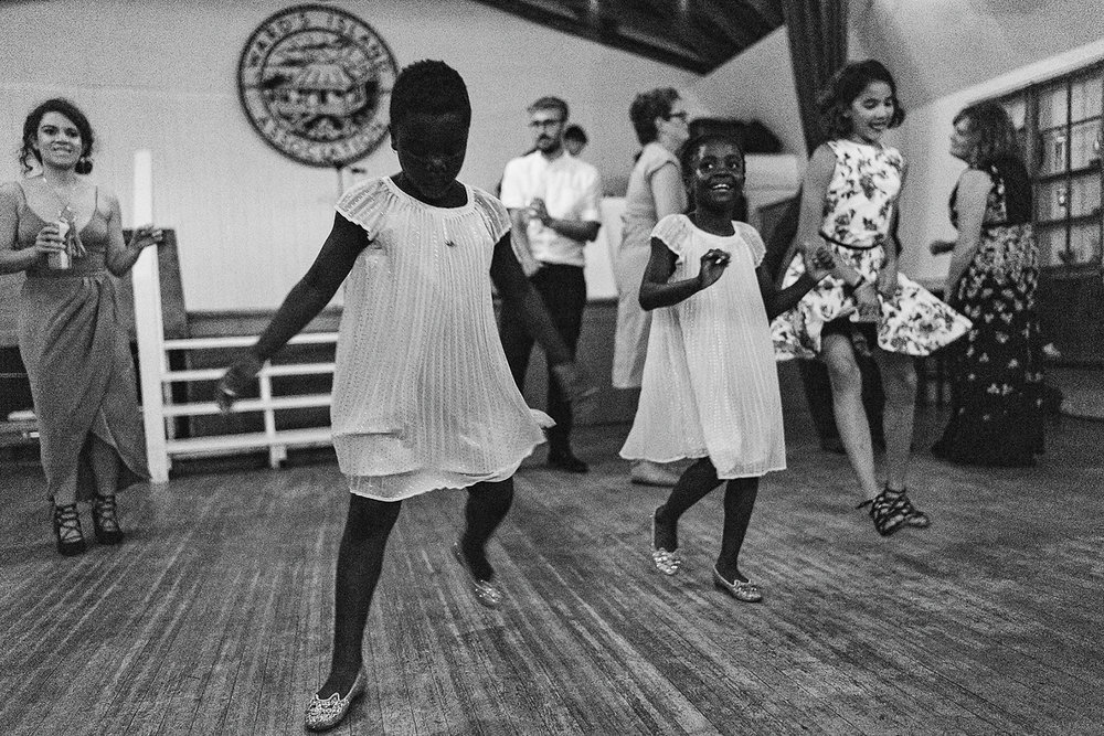 Best-Wedding-Photographers-in-Toronto-with-Photojournalistic-Documentary-Style-3B-Photography-Brian-Batista-Bettencourt-Intimate-Vintage-Wedding-at-Toronto-Island-Cafe-Clubhouse-Reception-Brid-Dancing-BW-Epic-Moment.jpg