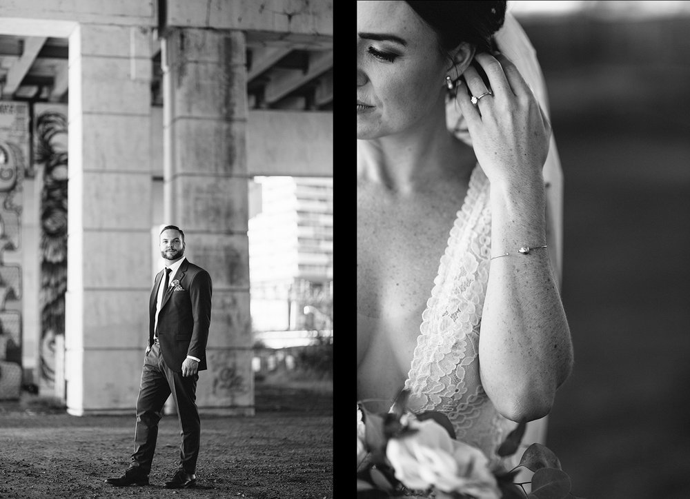 20-Best-Venues-in-Toronto-Airship37-Toronto-Wedding-Photographers-3B-Photography-Photojournalistic-Candid-Moody-Romantic-Wedding-Photography-inspiration-underpass-badass-bride-lace-wedding-dress-minimalist-jewellery.jpg