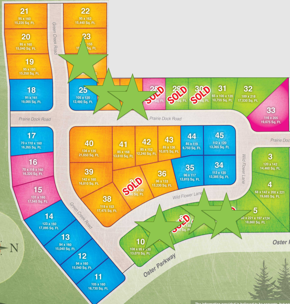 PHASE 1 LOTS. Call (319) 266-6609 Today!