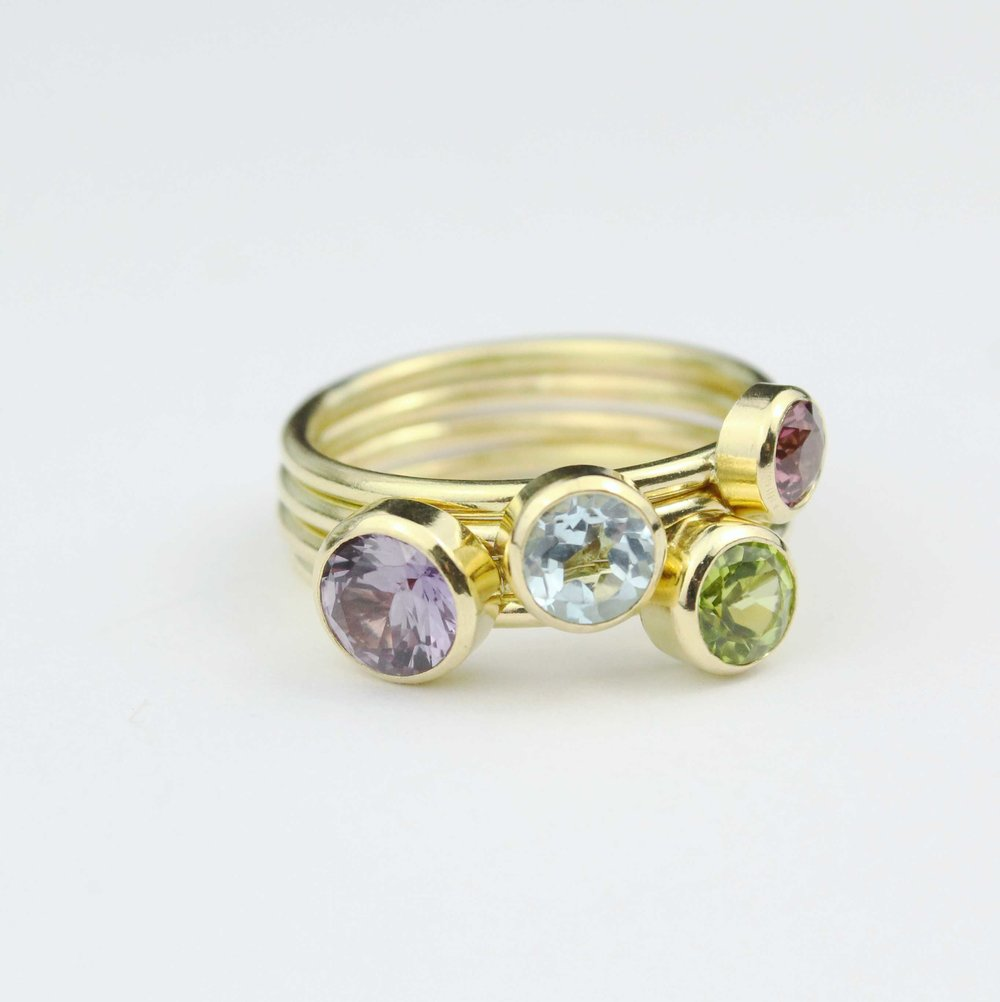 Birthstone Rings and Bespoke -