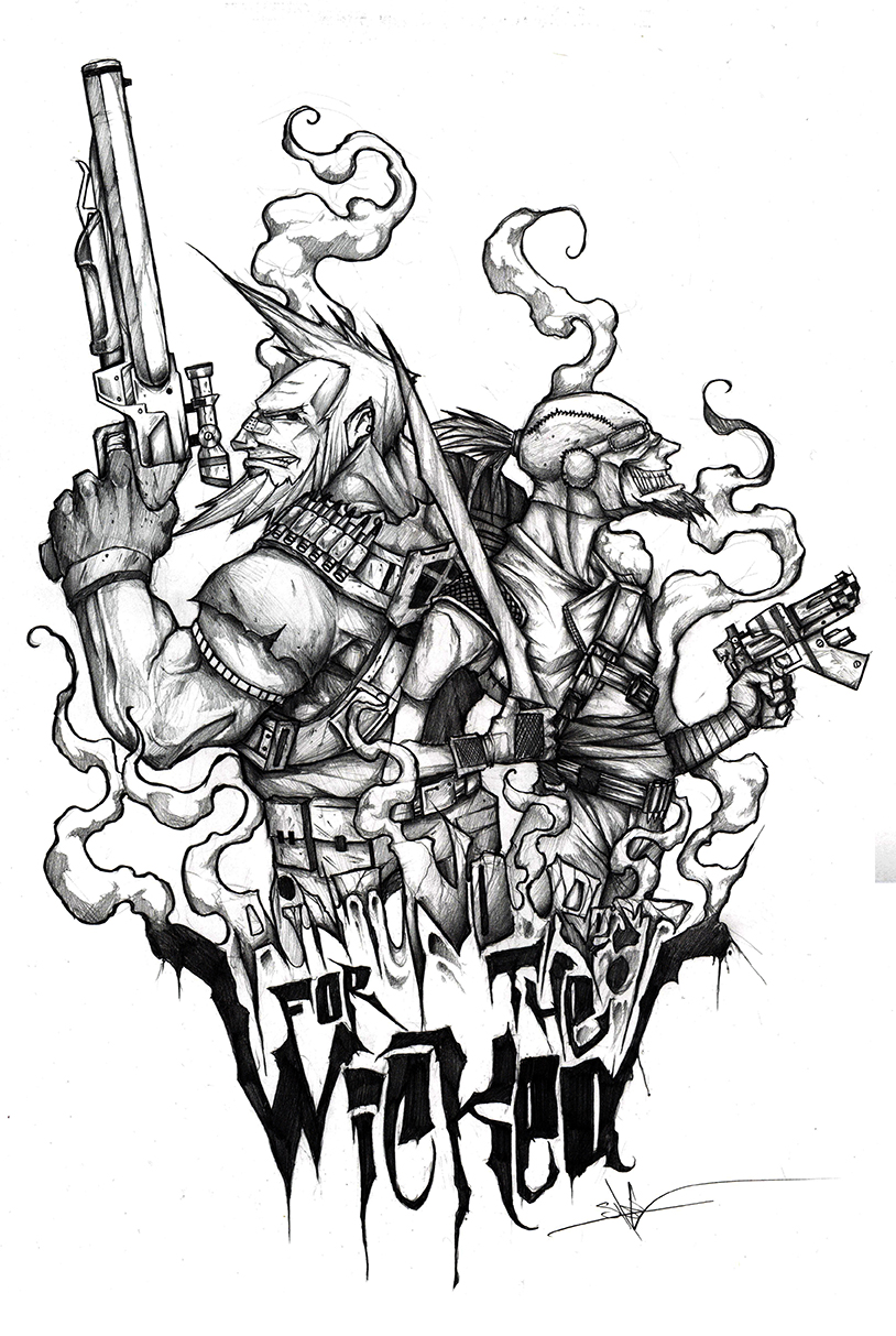 Borderlands Tattoo Design