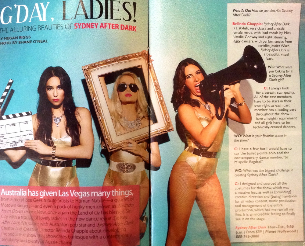 'Whats On' Magazine, Las Vegas