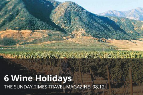 6 Wine Holidays  | The Sunday Times Travel Magazine