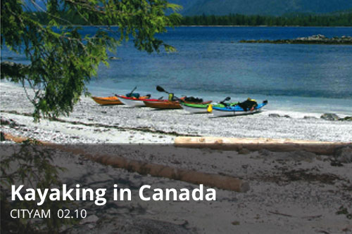 Kayaking in Canada | CityAM