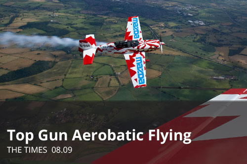 Top Gun Aerobatic Flying | The Times