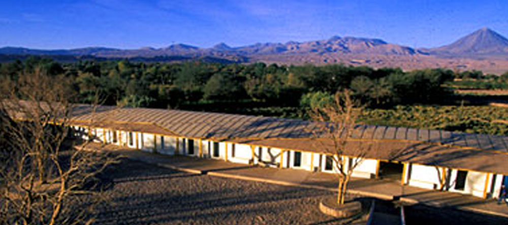 The desert lodge of Explora Atacama