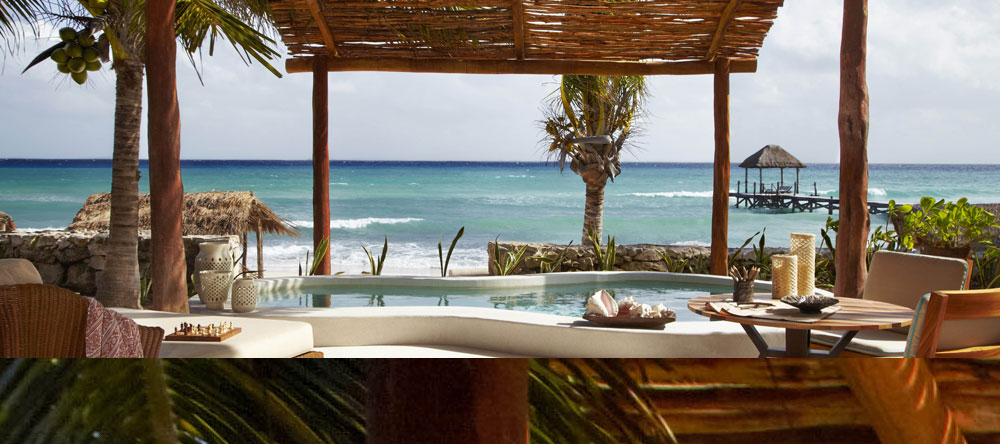 Beachfront Villa at The Tides, Riviera Maya