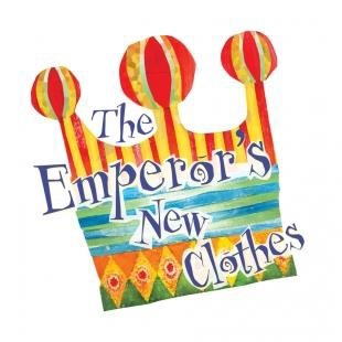 Image result for the emperors new clothes the musical official logo