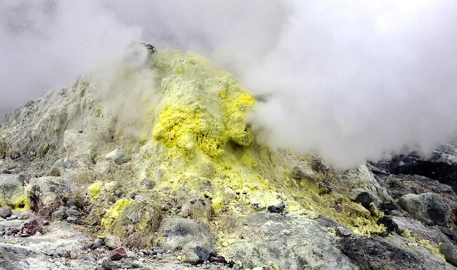 Volcanic activity central Hokkaido