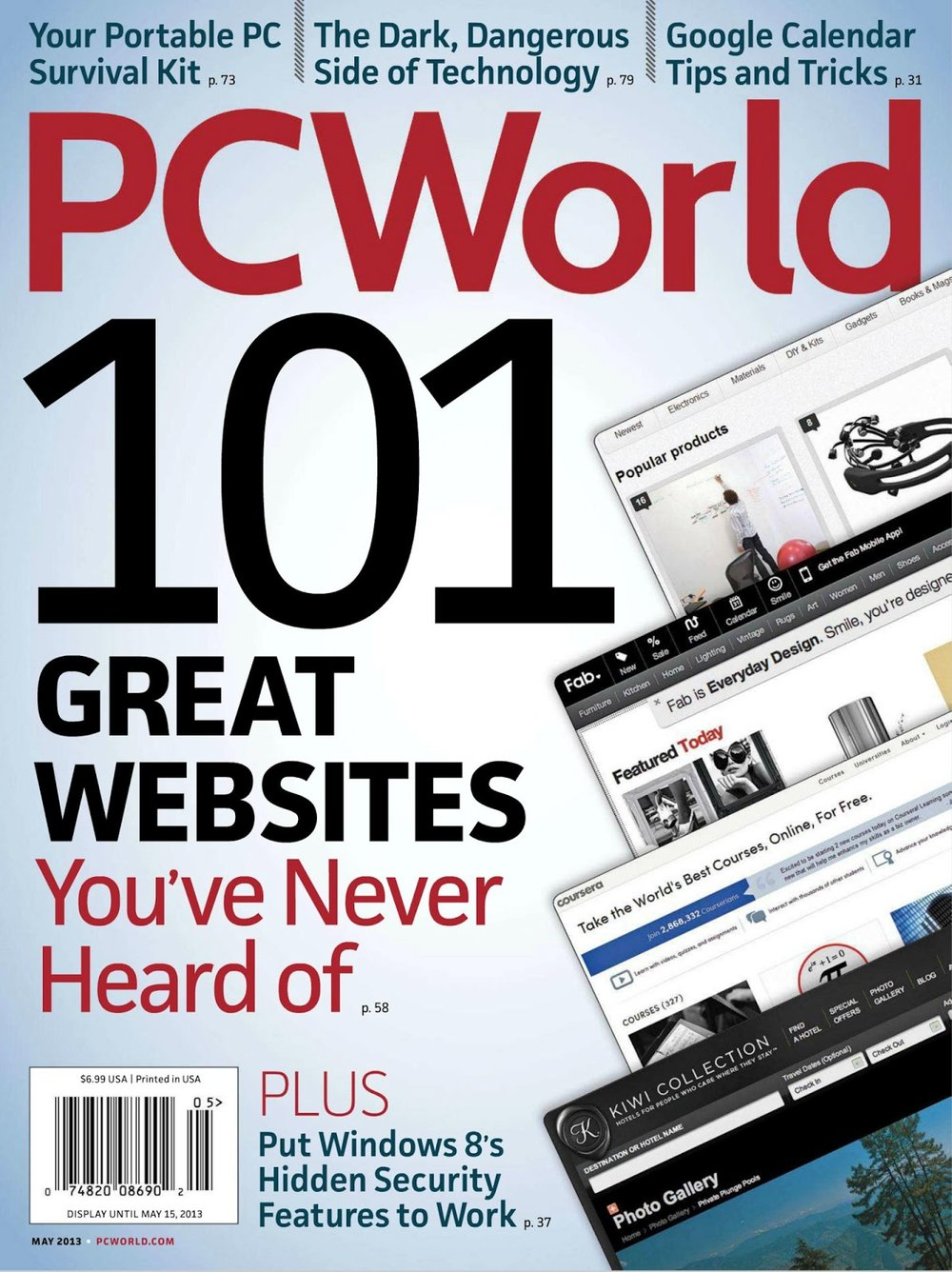 PCWorld - PCWorld is a global computer magazine (now website) focused on lab-tested hardware and software reviews. Prior to its print shutdown in 2013, PCWorld had a total circulation of 355,000, making it the largest computing magazine in the world. I've been a writer and contributing editor to PCWorld for eight years.Scroll down for a selection of clips, or click here to see all of my work for PCWorld.