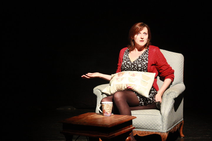 Sarah Jane Wolverson as Robyn in  Venison.  Photo by Robin Belfield.