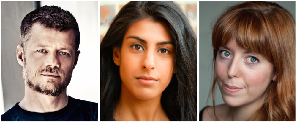 Thomas Magnussen, Lena Kaur and Rebecca Humphries