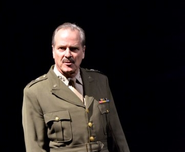 William Gaminara as General Leslie Groves in   Oppenheimer  . Photo by Keith Pattison.