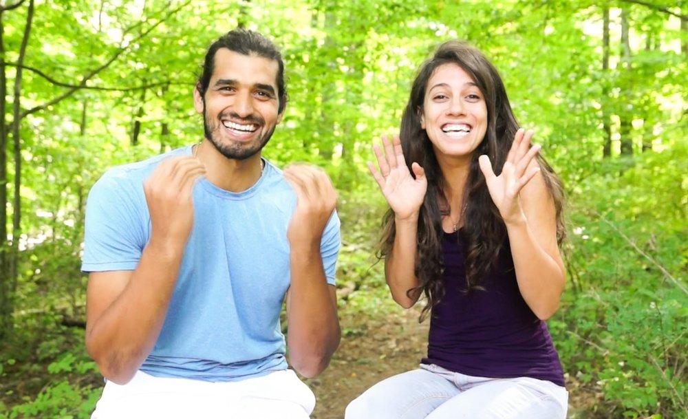 Anthony Morano and Leila Elamine