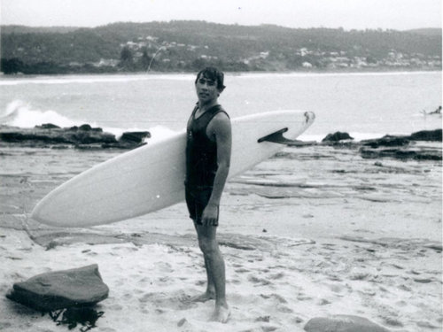 I Am Surf Film Festival-Maurice Cole The First Wave-Young Maurice Cole.jpg