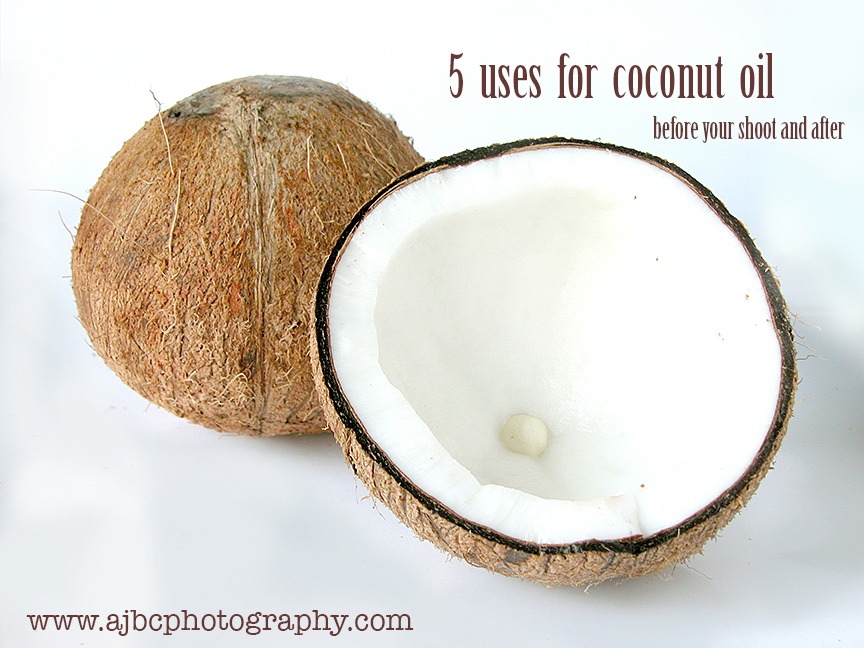 AJBCPhotography natural coconut oil uses tips