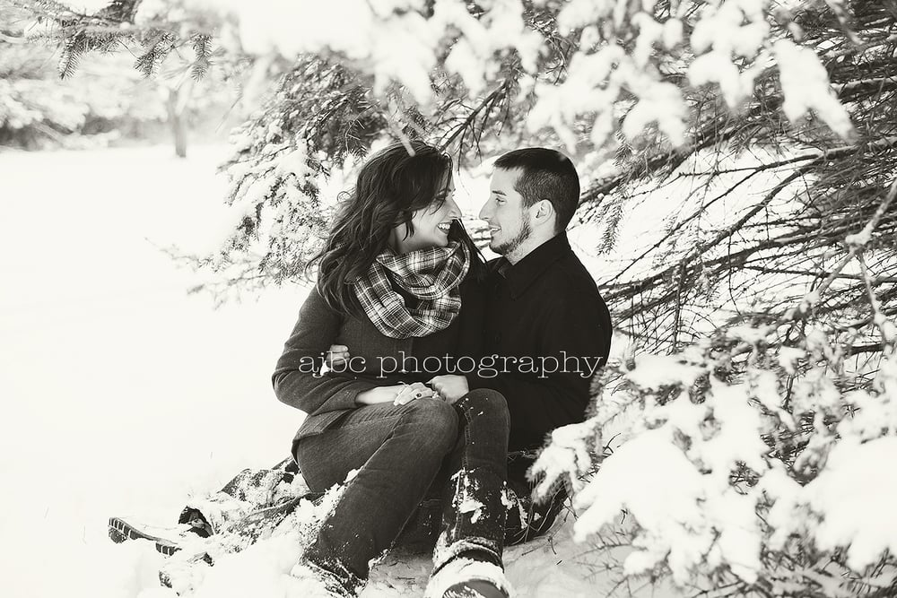 Winter Engagment Session in Snow.jpg