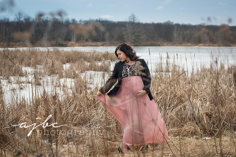 port huron michigan winter beauty maternity photographer.jpg