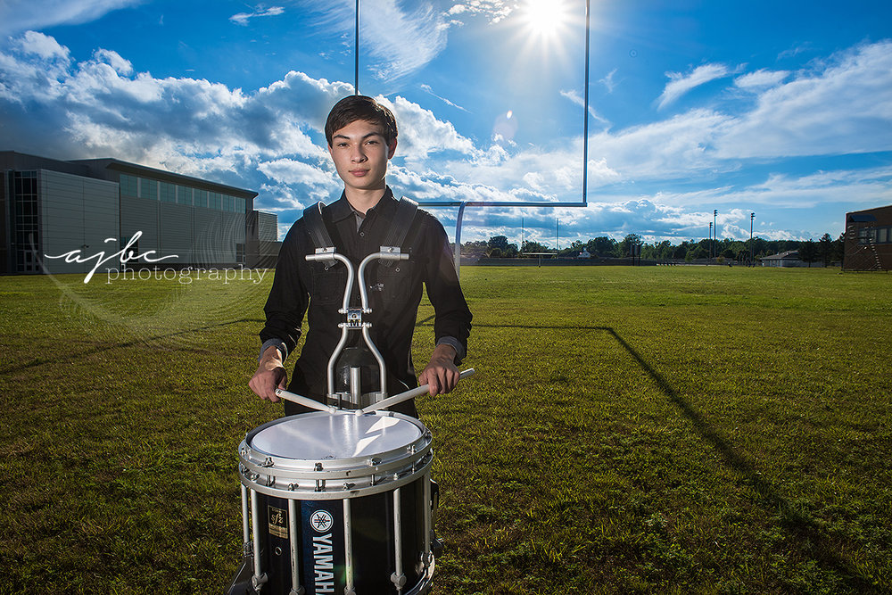 port huron michigan high school senior photos drummer boy.jpg