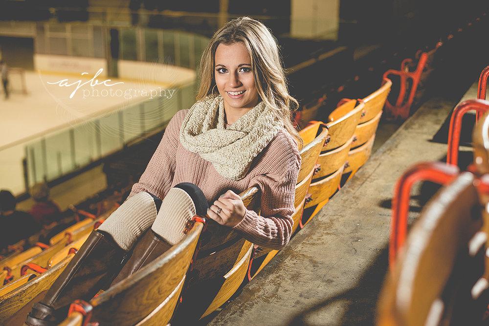 Michigan high school senior photographer downtown senior photoshoot senior beauty senior fashion winter photoshoot mcmorran hockey arena.jpg