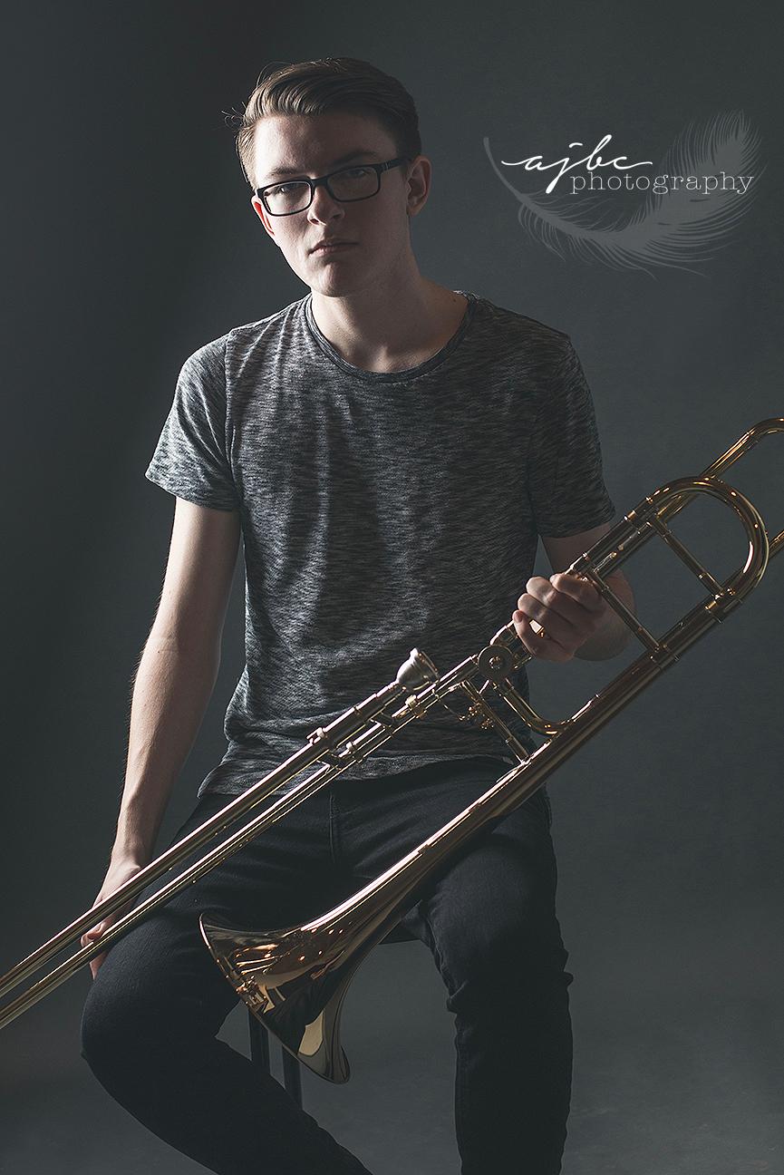 senior photoshoot trombone player michigan photographer.jpg