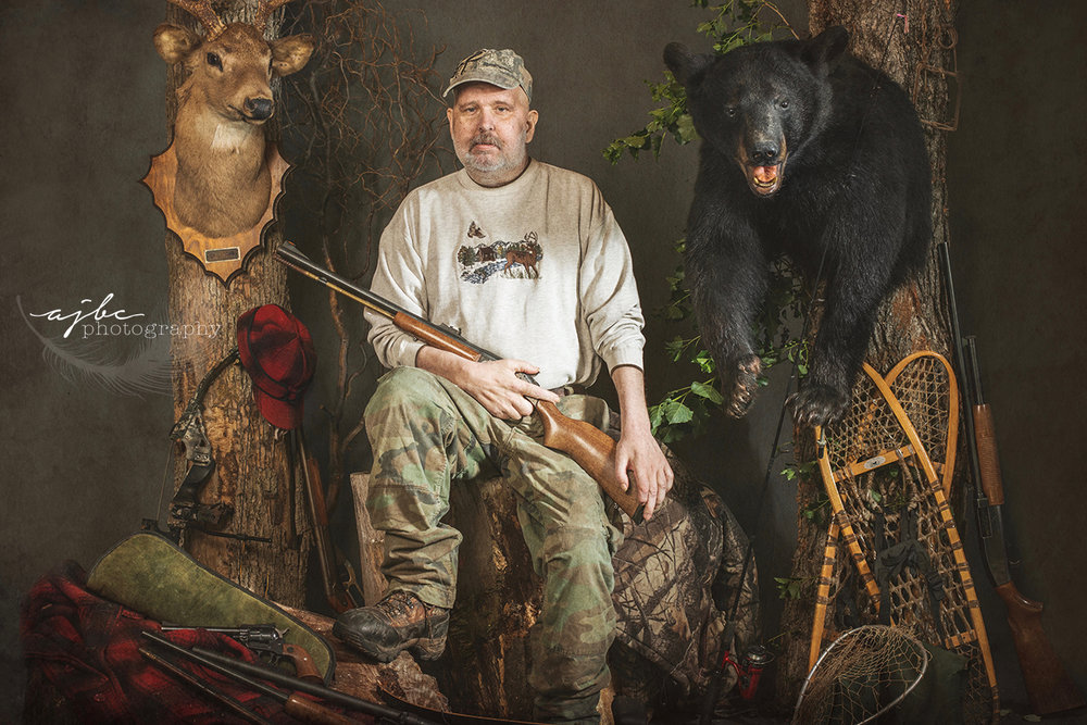 memorialized portrait michigan cancer story photographer hunter outdoors man hunting.jpg
